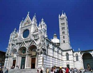 arquitectura sacra en siena edificaciones de culto en siena